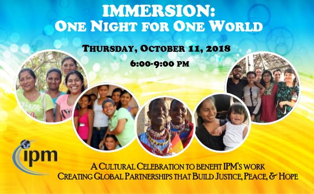 Immersion: One Night for One World 2018