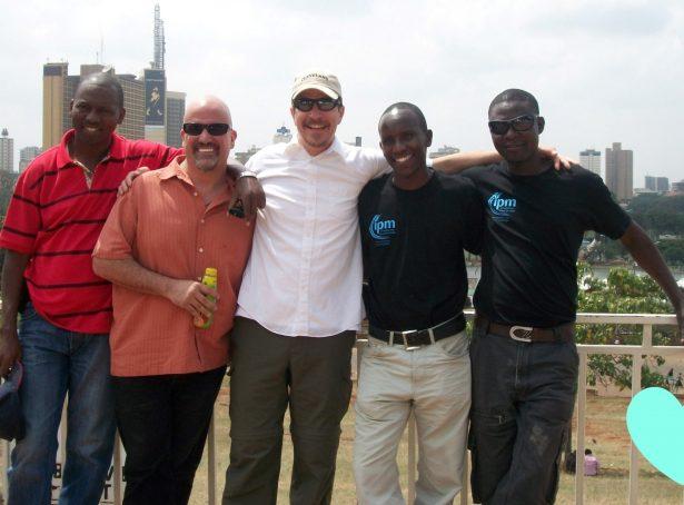 Andrew moi, Doug, Jesse, Jared of IPM Nairobi 2012 b